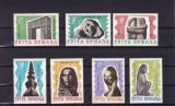 ROMANIA 1967  LP 645 - 10 ANI DE LA  MOARTEA LUI  BRANCUSI  SERIE   MNH