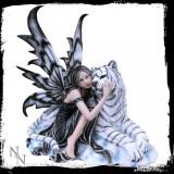 Statueta zana cu tigru Arctic