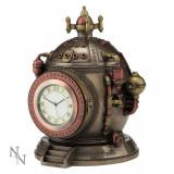 Ceas - caseta de bijuterii steampunk Mecanica timpului