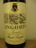 N. 15 - vin ALB angoris, PINOT GRIGIO, recoltare 1982 cl 75 gr 11, Sec, Europa