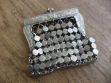 Portofel mic plasa metalica