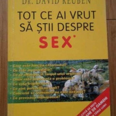 TOT CE AI VRUT SA STII DESPRE SEX - dr. DAVID REUBEN