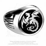 Inel sigiliu Dragon Wyverex (Q-Y)