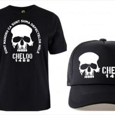 SETURI TRICOU + SAPCA > CHELOO OMBLADON 20 CM, PARAZITII, personalizat HIP- HOP