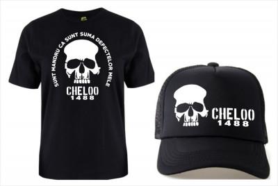 SETURI TRICOU + SAPCA > CHELOO OMBLADON 20 CM, PARAZITII, personalizat HIP- HOP foto
