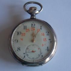 Ceas de buzunar din argint Zenith