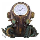 Ceas de birou steampunk Clocktopus