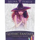 Carte de colorat Gothic Fantasy - Selina Fenech