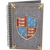 Jurnal /agenda cu coperti din rasina Scut Medieval
