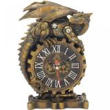 Ceas de birou dragon steampunk Clockwork Companion