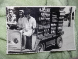 fotografii vechi Ceausiste,masina de epoca industriala ELECTROCAR,Transp.GRATUIT