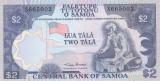 Bancnota Samoa 2 Tala (1985) - P25 UNC