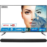 Televizor Horizon LED Smart TV 43 HL8530U 109cm Ultra HD 4K Black Bundle HAV-S2860