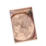 Caseta carte, model geografic
