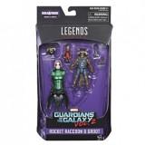 Marvel Legends Rocket Raccoon & Groot, Guardians of the Galaxy Vol. 2, Hasbro