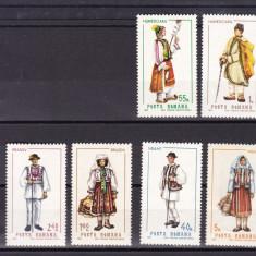 ROMANIA 1968  LP 690 COSTUME NATIONALE  I   SERIE  MNH