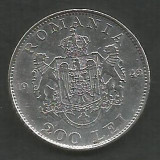 ROMANIA  MIHAI I  200  LEI  1942  Argint  [2]  XF++  ,  livrare  in  cartonas