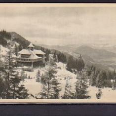 ROMANIA - CAMPULUNG-MOLDOVENESC. CABANA RARAU, ALB-NEGRU MNH, FD65, Necirculata, Fotografie
