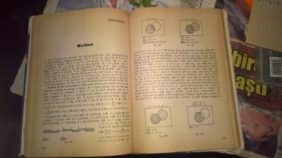 Culegere de probleme de algebra pentru licee Stamate si Stoian 1971 foto