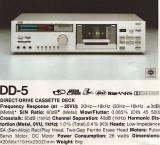 Casetofon Deck JVC DD5