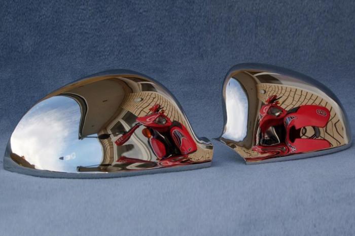 Ornament INOX pentru oglinzi compatibil SEAT ALHAMBRA SKODA SUPERB AL-190618-18