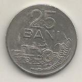 ROMANIA   RPR   25 BANI 1960  [2]    livrare in cartonas, Fier