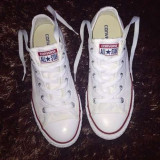 Tenisi Converse All Star albi