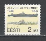 Estonia.1996 Submarinul Lembit  SE.147, Nestampilat