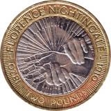 "Marea Britanie moneda 2 Pounds 2010 ""Florence Nightingale"" - VF - 1, Europa"