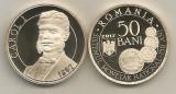 ROMANIA  50  BANI  2017 , 150 Ani  Sistem  Monetar - CAROL I  , PROOF in capsula, Alama