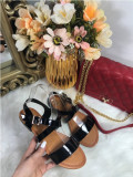 Sandale dama negre marime 36, 37, 38, 39+CADOU