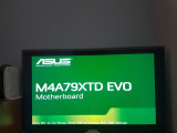 Vand SUPER PLACA Asus AM3 model M4A79XTD EVO + cooler+proc AM3 200lei, Pentru AMD, DDR 3