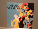 JOHANN STRAUSS – THE BAT/GIPSY BARON (1958/POLYDOR/RFG) - VINIL/Ca NOU