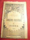 Ion Simionescu- Cunostinte Folositoare III- SAREA - Ed. 1921 Casa Scoalelor