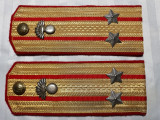 EPOLETI MILITARI  - MODEL SOVIETIC - ARMATA ROMANA POST WWII - LT. COLONEL
