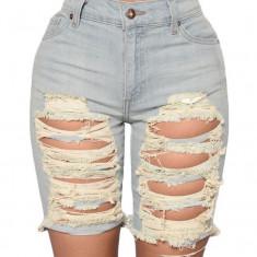CL591-24 Pantaloni scurti din denim Bermuda Shorts, L
