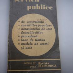 Servicii publice /Revista economica 1983
