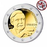 !!!  GERMANIA - 2 EURO 2018 COMM , A  - KM NEW -  UNC / HELMUT  SCHMIDT