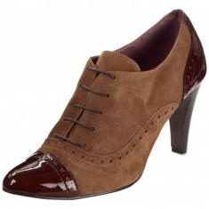 GDY28-8 Pantofi office eleganti cu sireturi