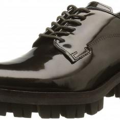 CH2565 Pantofi din piele cu talpa groasa