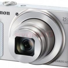 Aparat Foto Digital Canon PowerShot SX620 HS, 20.2MP, Filmare Full HD, Zoom optic 25x (Alb)