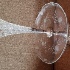 WMF JUGENDSTIL 1885 fructiera sticla cristal antichitati cadou colectie
