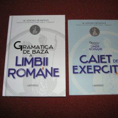 Gramatica de baza a limbii romane +caiet de exercitii- Ed. a IIa-Academia Romana