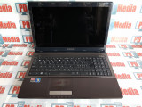 "Laptop Asus X53U AMD C-50 Dual Core 1.0 GHz 3GB RAM 160GB HDD ATI HD6250 15.6"", AMD E2, 3 GB, 160 GB"