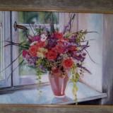 Pictura in ulei. Unicat., Flori, Realism
