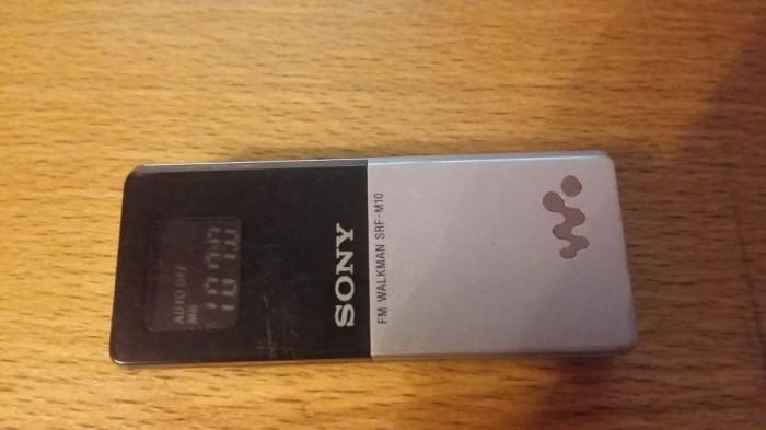 walkman sony srf-m10  radio sony srf-m10