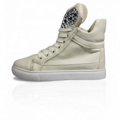 CH2373-15 Sneakers dama accesorizati cu pietricele