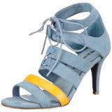 GDY35 Sandale elegante cu barete si snur, 39, Tamaris