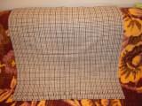Material din lana cu carouri cu dimensiunea (78x150)cm., NOU, 48, Bej