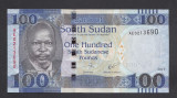 A2363 Sudan 100 pounds 2017 UNC